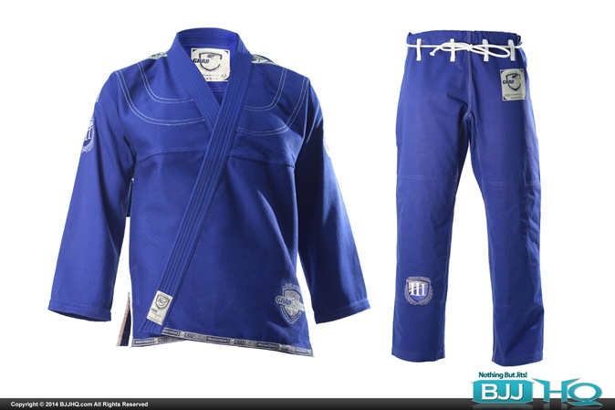 Grab & Pull V3 Blue Gi